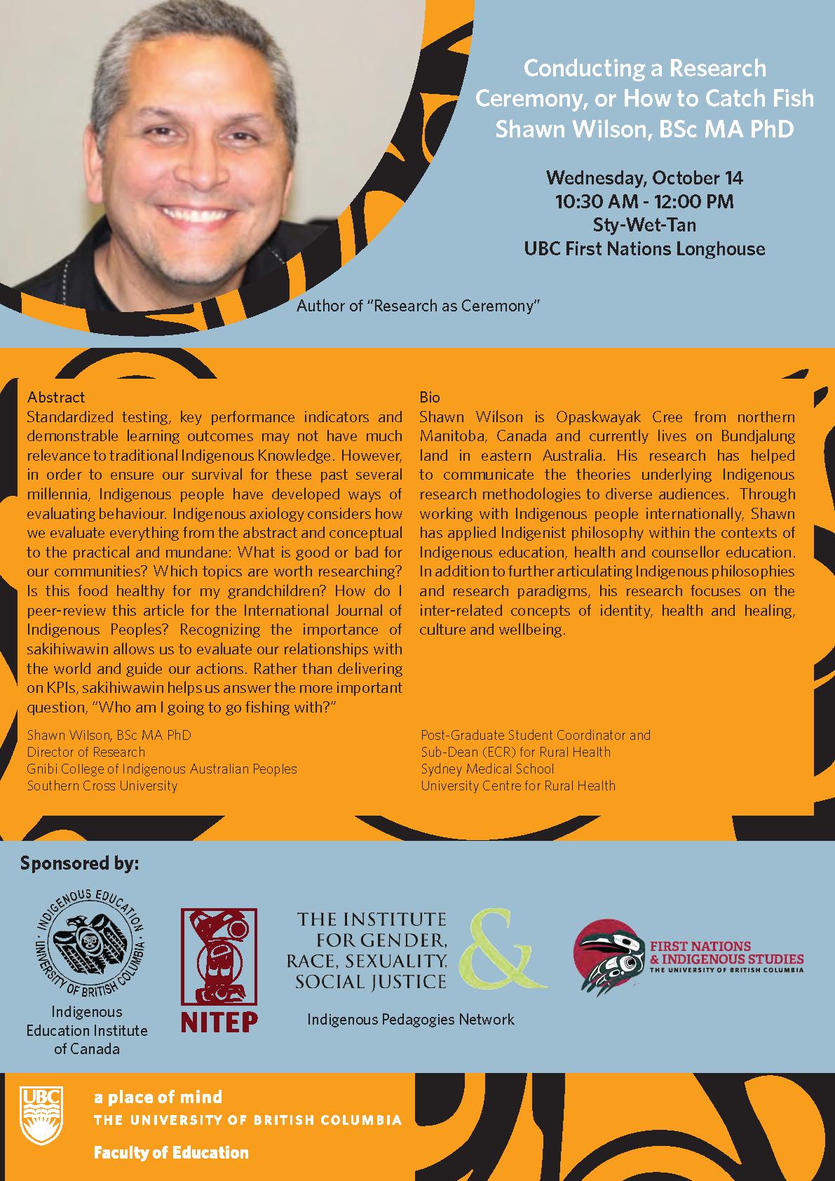 Oct 14, 2015 Shawn Wilson Presentation[1]
